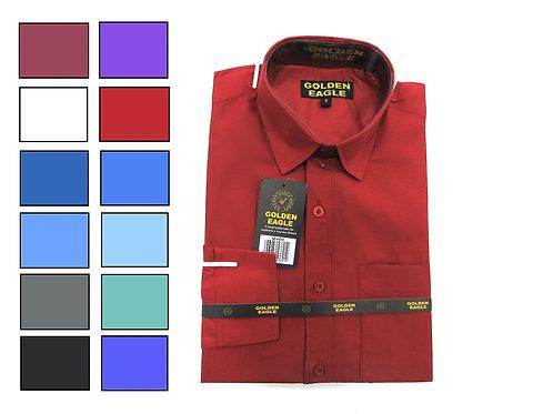 Camisa de Caballero Manga Larga REF 50-0550 S-XL