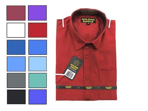 Camisa de Caballero Manga Larga REF 50-0560 S-XL