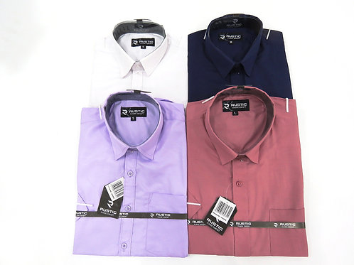 Camisa de Caballero Manga Corta REF 50-0520  S-L