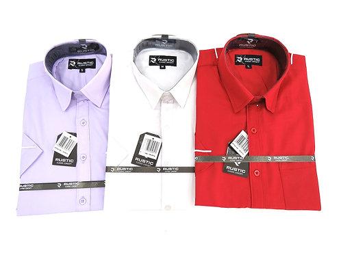 Camisa de Caballero Manga Corta REF 50-0516  S-XL