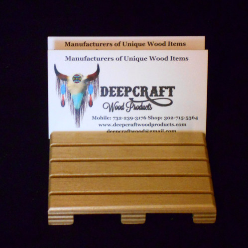 Pallet business card holder pallet business card holder is a great way to display your business cards sold in multiples of one each slot hold 4 cards for a total of 24 and they sit on colourmoves