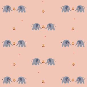 Elephant love Pillow