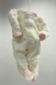 Borax Onsie Sculpture by Kayla Wiley