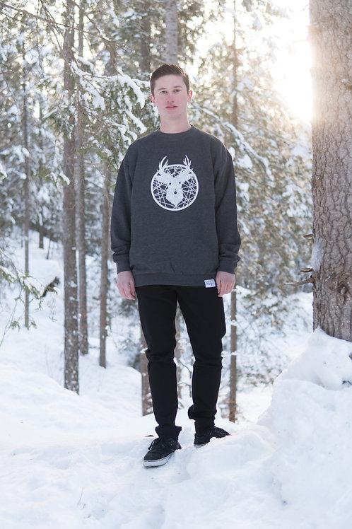 «Tscharva» Sweatshirt Herren – Graphit meliert