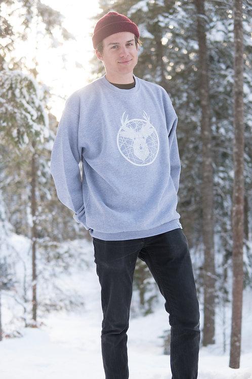 «Tscharva» Sweatshirt Herren – Grau meliert