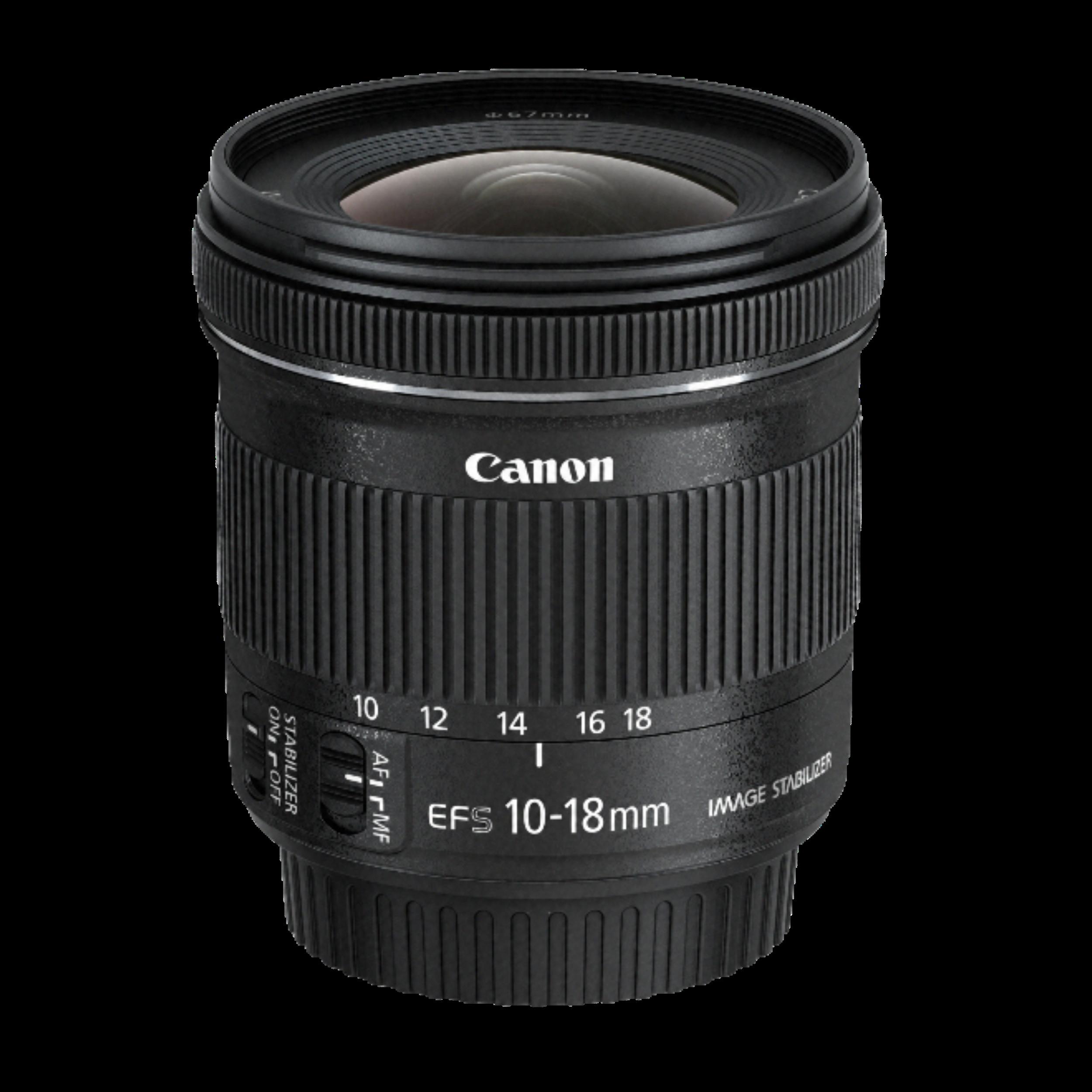 Canon 10-18mm f/4.5-5.6 - Canon EF-S