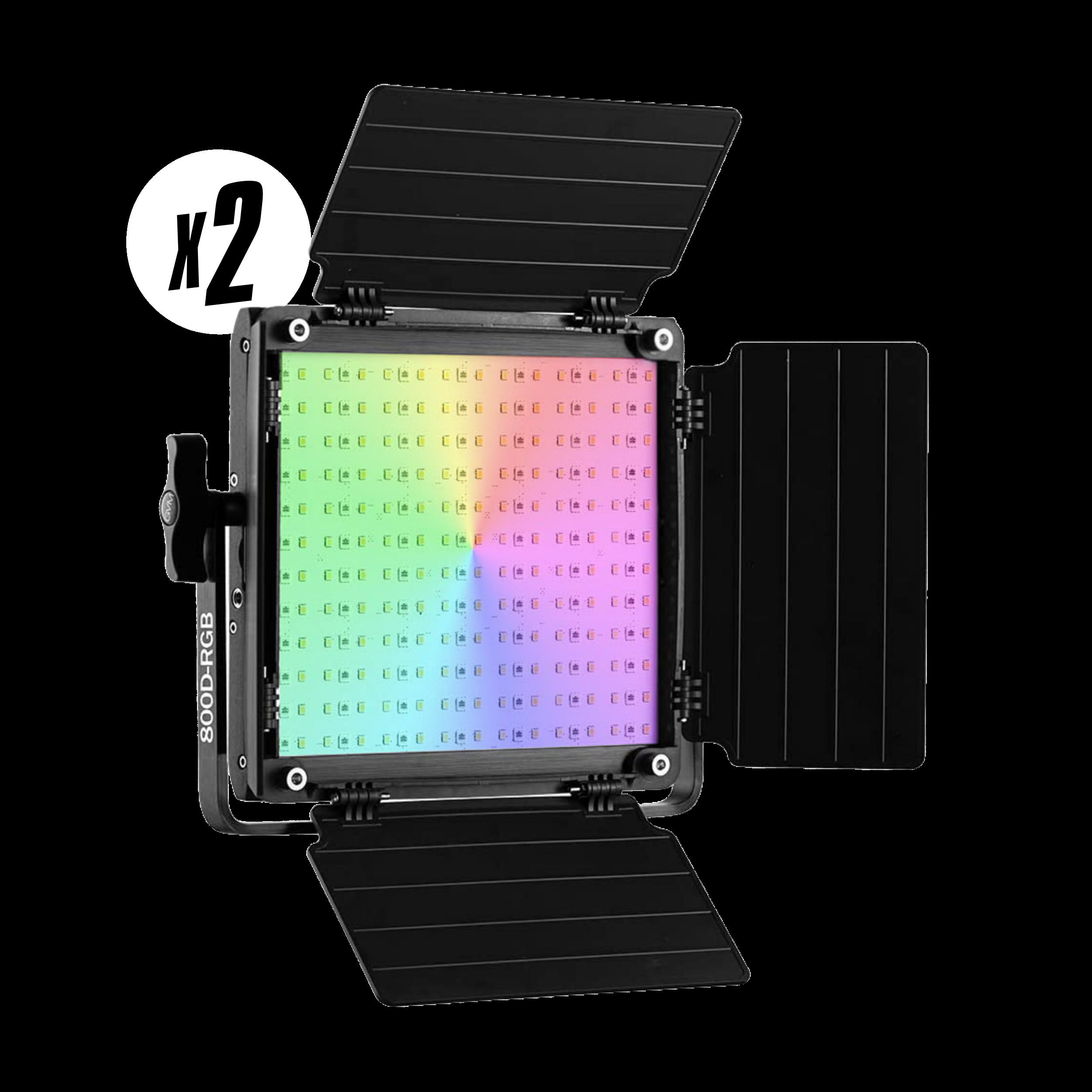 GVM 800D-RGB LED