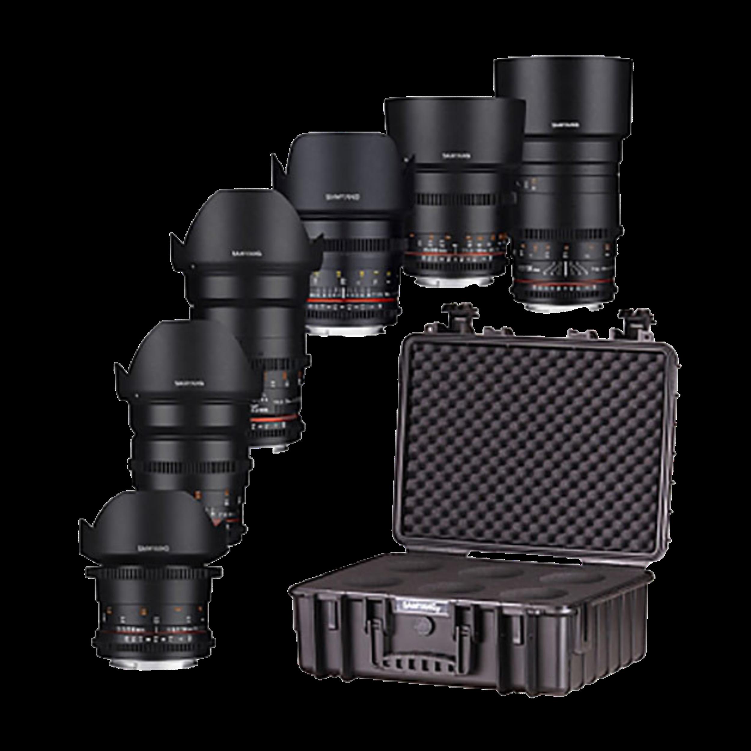 Samyang Lens Kit - EF