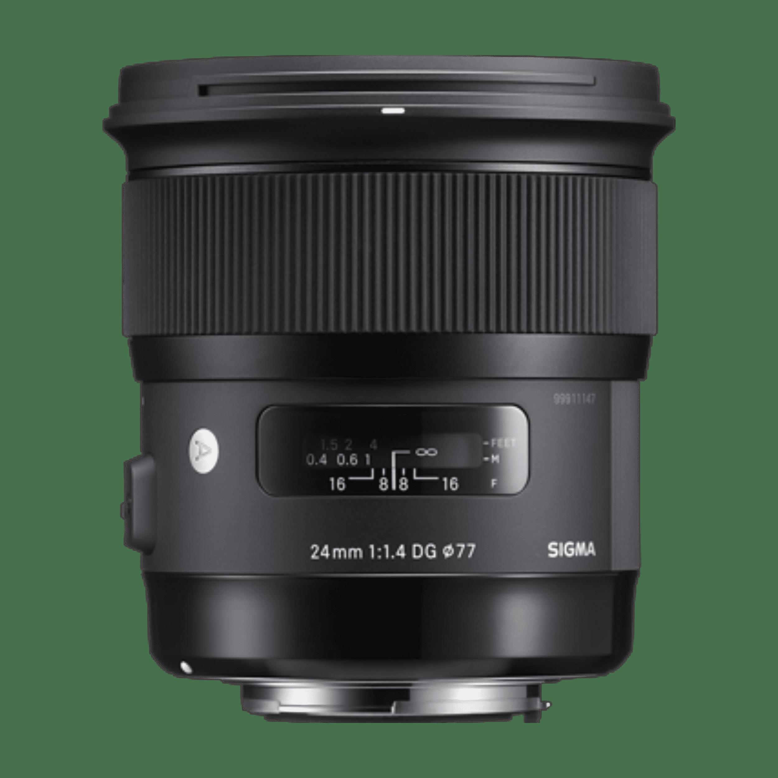 Sigma 24mm f/1.4 - Canon EF