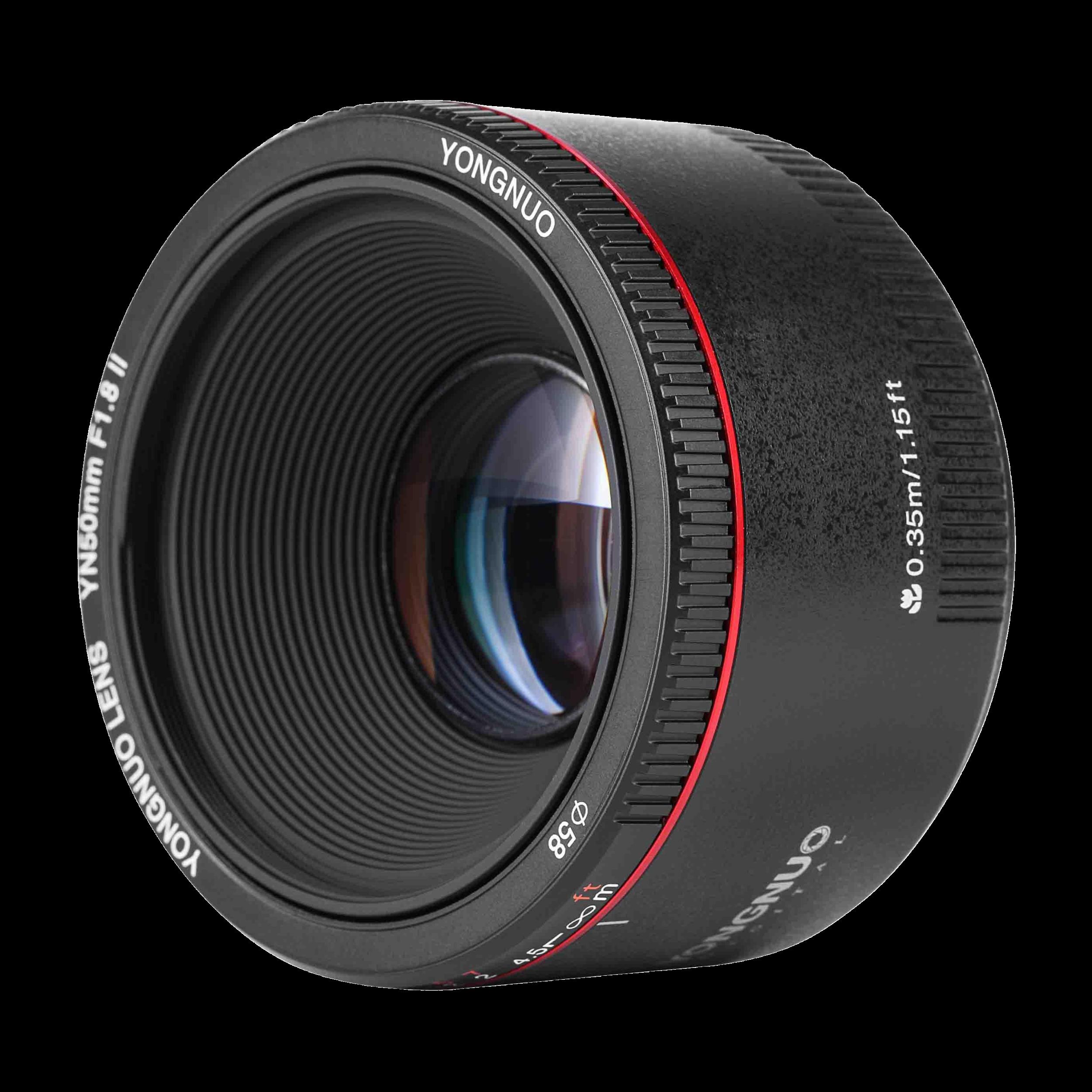 Yongnuo 50mm II f/1.8 - Canon EF