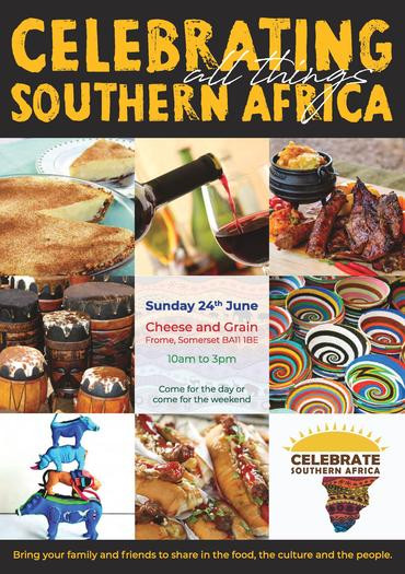 Leaflet for Celebrating Southern Africa Market