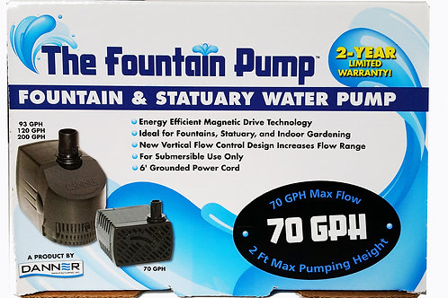 The Fountain Pump - 70 GPH