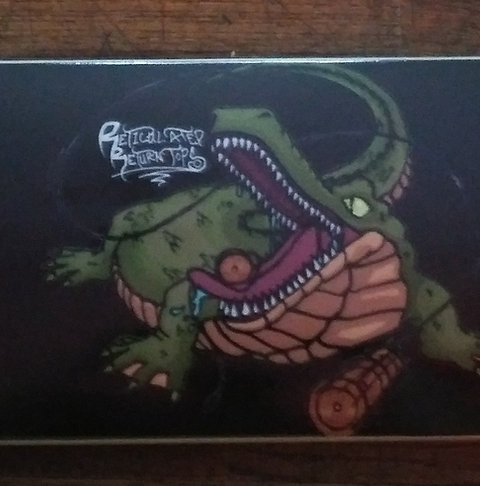 Retic Croc Skateboard Deck