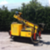 micropile drilling rig
