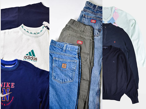 Sweatshirt, Carhartt & Dickies, Branded Knitwear - 3 Bale Bundle