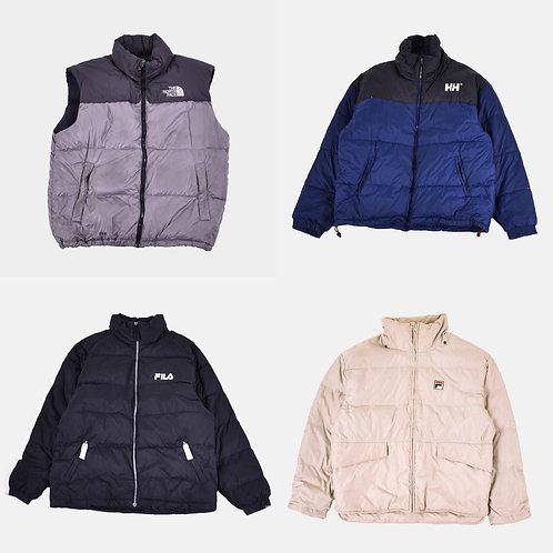 Premium Branded Puffer Jackets 60pcs