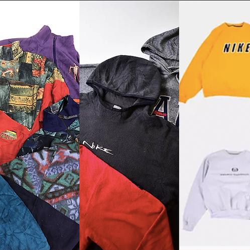 Fleeces & Sweatshirt -  3 Bale Bundle