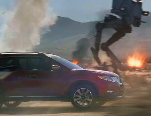 Nissan Rogue - Battle Tested