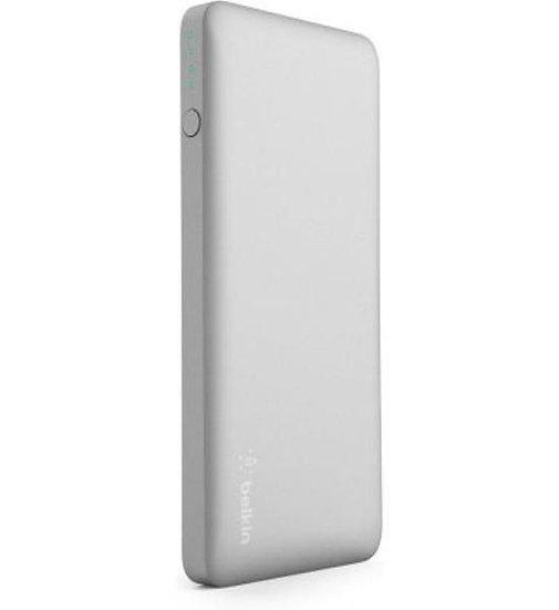 Belkin Pocket Power 10K Power Bank (Aka Portable Charger) – Silver
