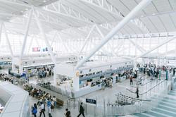 日本有数の発着回数を誇る福岡空港