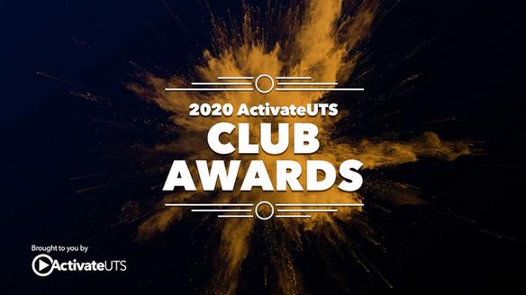 ActivateUTS Club Awards 2020