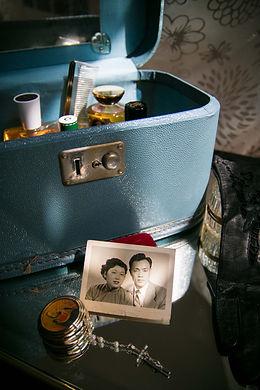 Dans la série Grandma, image de la photo de mes grand-parents