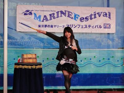 マリンフェスティバルにてマジックショー