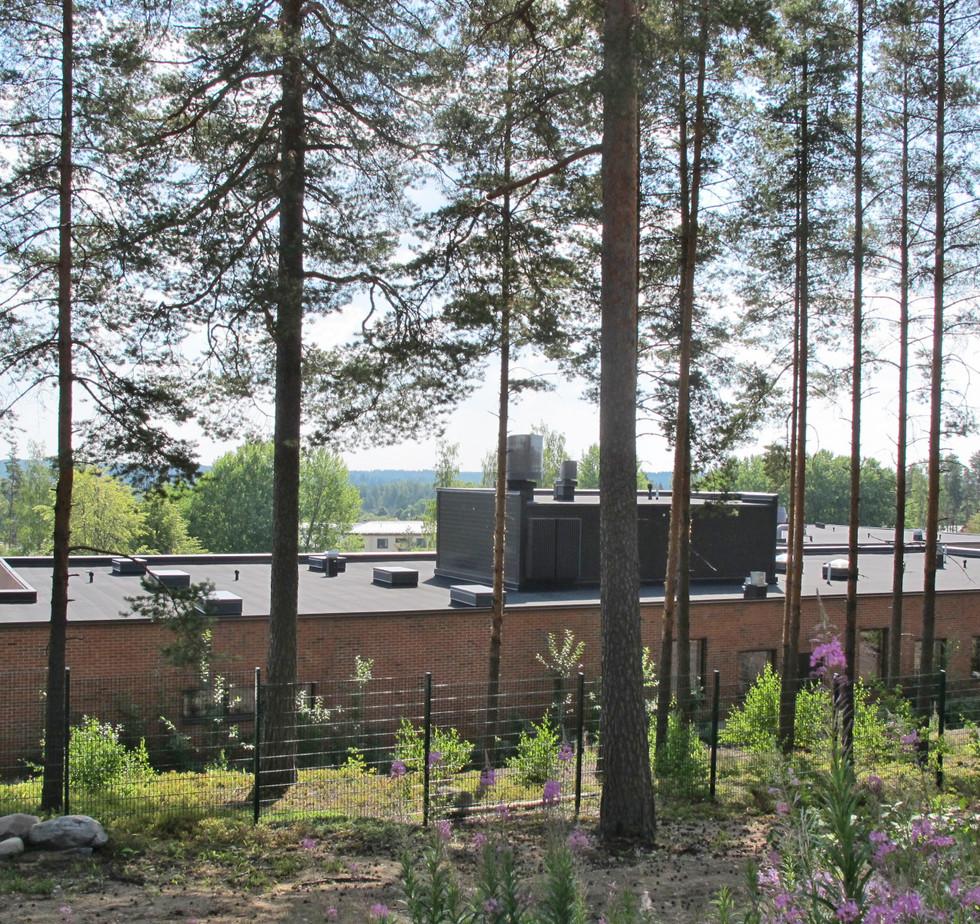 Luksia Nummelan ammattikoulu 6400m2