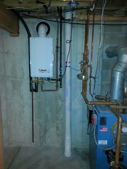 Sub-slab radon piping