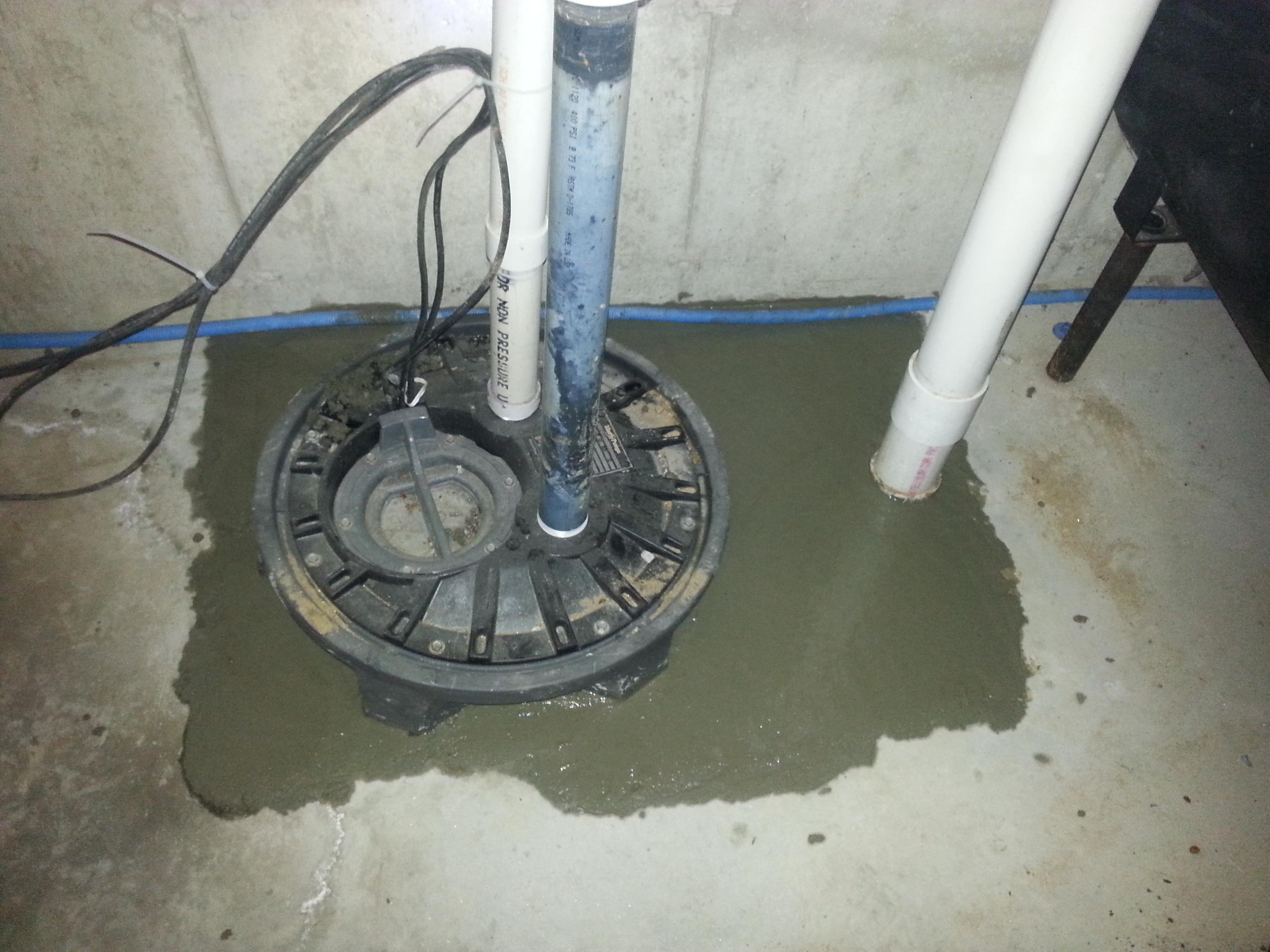 Sewer sump