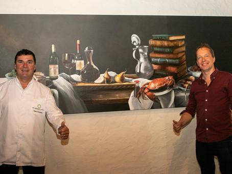 Expositie 'Moderne Stillevens' nu te zien in Michelin ster restaurant De Kromme Dissel te Heelsum.