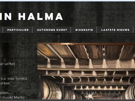 Nieuwe website Martinhalma.com staat online!