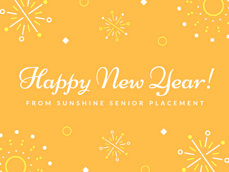 Happy New Year from the Sunshine Senior Placement Team!