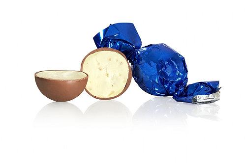 Lyst chokolade med knas