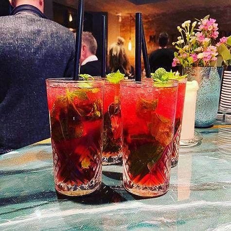 Cranberry Mojito!! #sigmaesbjerg #mojito