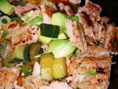 Salmon & Veggies