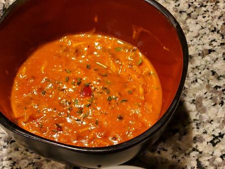 Mushroom & Crab Tomato Bisque