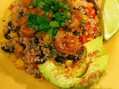 Latin-inspired Shrimp & Quinoa