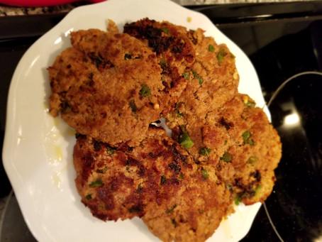 Stuffed Turkey Patties