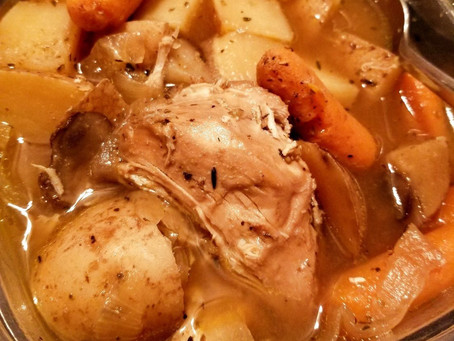 Slow-Cooked Savory Chicken Breasts