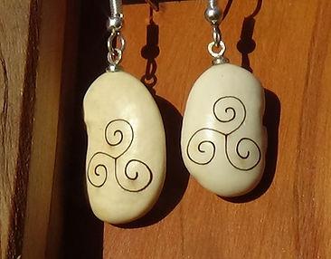 triskelion bean earring.JPG