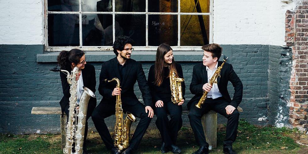 Avondconcert with Maat Saxophone Quartet