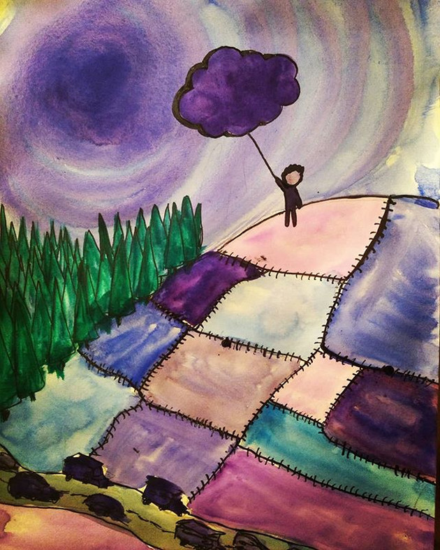 Drawing My Dreams: Patchwork world