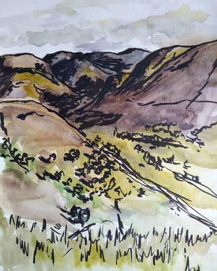 Glenshee from a windy Creag Choinnich.jp