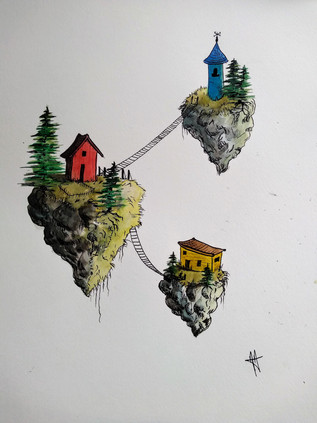 Isolation houses
