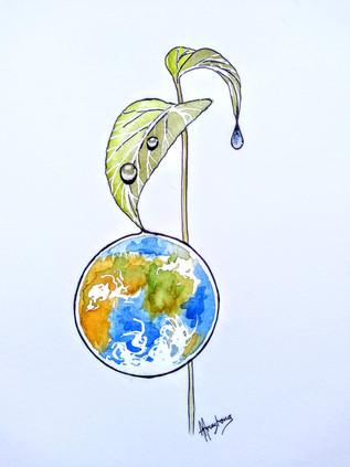 Earth Drop