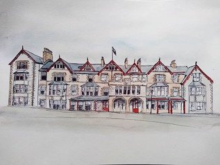 Quick one of the be Fife Arms, got lazy