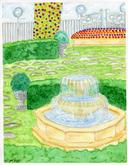 Garden Triptych piece 2