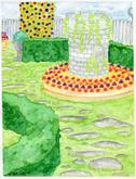 Garden Triptych piece 3