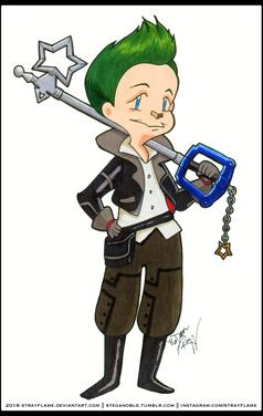 Keyblader Stray